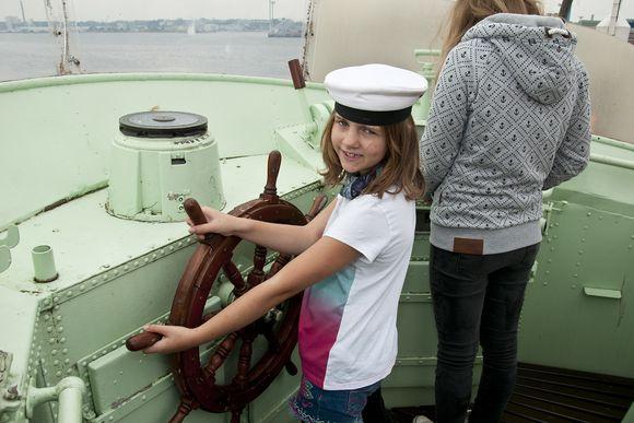 Wie wird auf hoher See kommuniziert? Im Ferienprogramm des Schifffahrtsmuseums erfahren Kinder mehr.