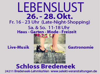 LebensLust Schloss Bredeneek